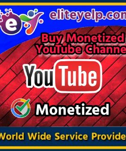buy monetized youtube channel
